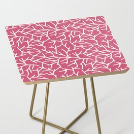 Branches - pink Side Table