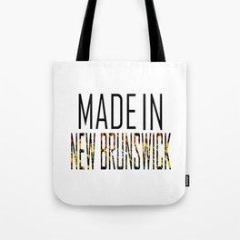 Made In New Brunswick Tote Bag