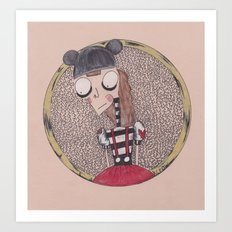 mouse club dropout. Art Print