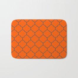 Imperial Trellis Winter 2018 Color: Unapologetic Orange Bath Mat