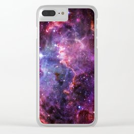 """""""Spacecase"""", by Brock Springstead Clear iPhone Case"""