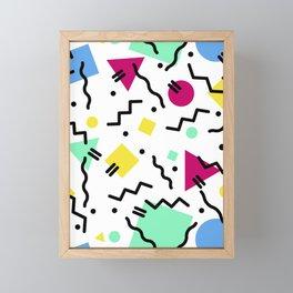Back in the Day Framed Mini Art Print
