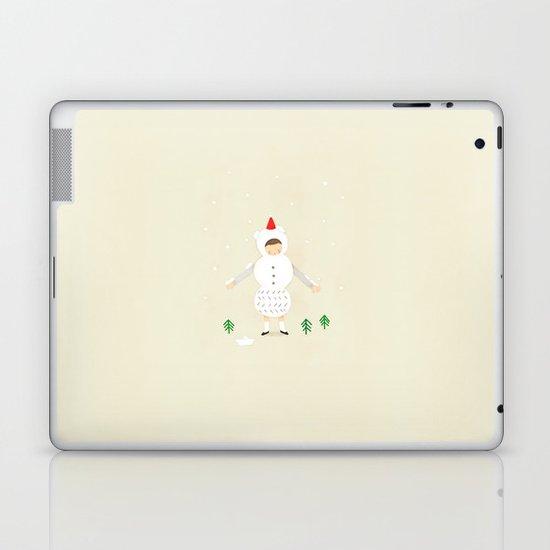 snow snow Laptop & iPad Skin