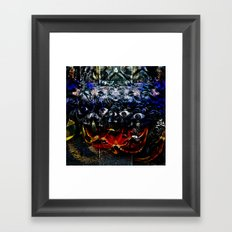 or even overcoming impediments to self advancement Framed Art Print