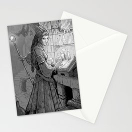 Morgana Le Fay Stationery Cards