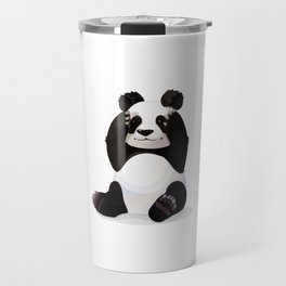 Cute big panda bear Travel Mug