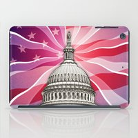 politics iPad Cases featuring The World of Politics by politics