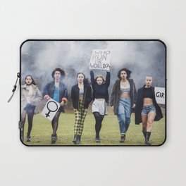 Who runs the world? GIRLS!  Laptop Sleeve