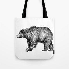 Bear ink Tote Bag