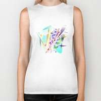 band Biker Tanks featuring Jazz Band by Nancy Smith