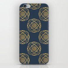 Nights in Blue and Gold iPhone & iPod Skin