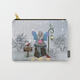 Winter land Sanctuary Carry-All Pouch