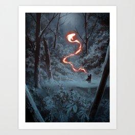 Friendly Fire Art Print