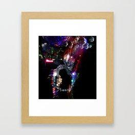 Disco Monster Framed Art Print