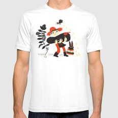 No Problemo  SMALL Mens Fitted Tee White