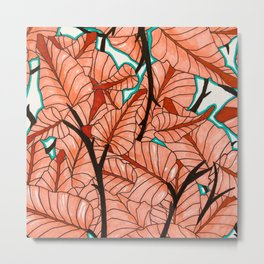 Maha Palm Metal Print