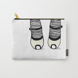 striped socks Carry-All Pouch