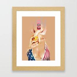 American Dreams Framed Art Print