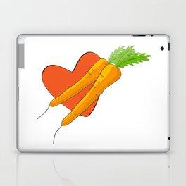 Carrot Heart Laptop & iPad Skin