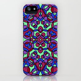 KALEIDOSCOPE CIRCLES  iPhone Case