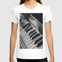 piano T-shirts featuring Piano by Renny Hendra