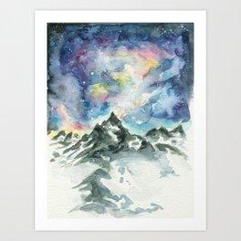 Matterhorn Mountain Art Print