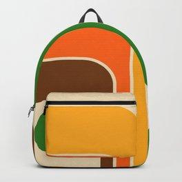 Retro Geometric Design 722 Backpack