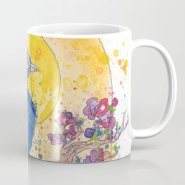 Peacock in the Sun Coffee Mug
