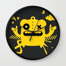 Monster Art Wall Clock