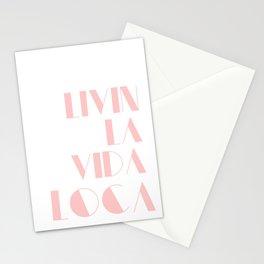 Livin' La Vida Loca Stationery Cards