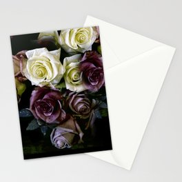 Roses Dark Moody Old Masters Stationery Cards