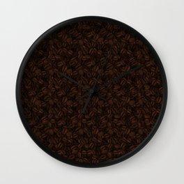 Coffee Beans (Max Caf) - Extra Dark Wall Clock