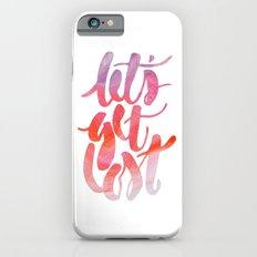 Let's Get Lost Slim Case iPhone 6s
