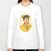 jesse pinkman Long Sleeve T-shirts featuring jesse pinkman  by zacksellsstuff