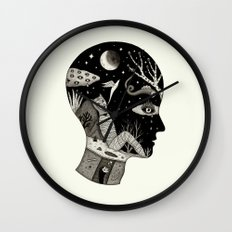 Distorted Recollection of a Dream About Death Wall Clock