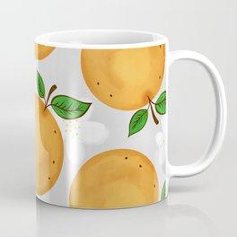 Orange Blossom Print Coffee Mug