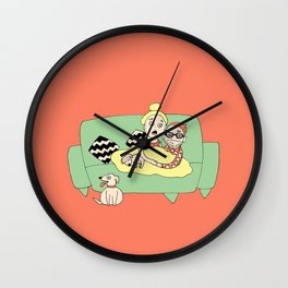 Watching Breaking Bad Wall Clock
