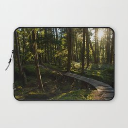 North Shore Trails in the Woods Laptop Sleeve