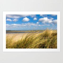 Beach whispers Art Print