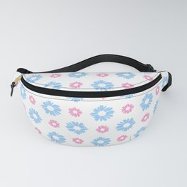 From a true flower 1 blue and pink Fanny Pack