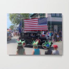 Bar Harbor Fourth of July Parade Metal Print