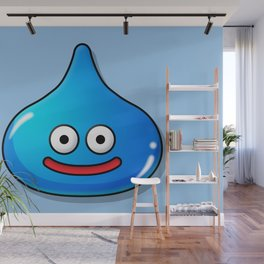 A Slime Draws Near! Command? Wall Mural