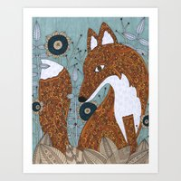 The Secret Visitor Art Print