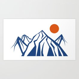 Napoleon Mountain Art Print