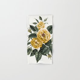 Yellow Roses Hand & Bath Towel