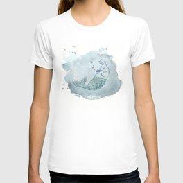 Panflute Merbunny T-shirt