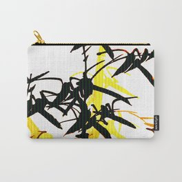 Bambu Branches On The White Background #decor #society6 #pivivikstrm Carry-All Pouch