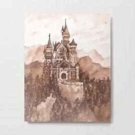 castillo Metal Print