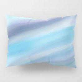 Blue Waves Pillow Sham