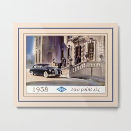 Automotive Art 187 Metal Print